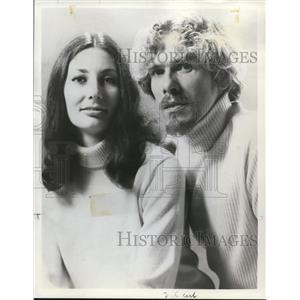 1971 Press Photo Sonja Zarek & James Clonser in The Gleanlings - orp27966