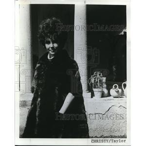1977 Press Photo Elizabeth Taylor