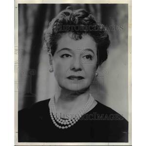1964 Press Photo Cornelia Otis Skinner - orp26629
