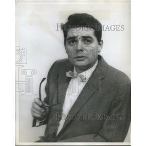 1962 Press Photo B. Joe Medley in Champagne Complex - orp27273