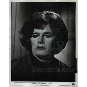 1968 Press Photo Rod Steiger in No Way to Treat a Lady - orp26845