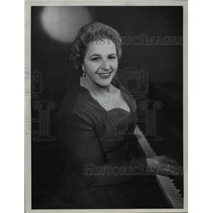 1960 Press Photo Kate Smith of The Kate Smith Show - orp26647