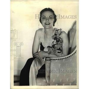1938 Press Photo Frances Stevens in Baroness of the Blues - orp27057