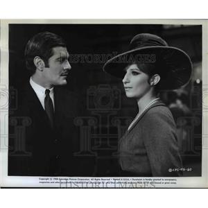 1968 Press Photo Omar Sherif in Funny Girl - orp25906