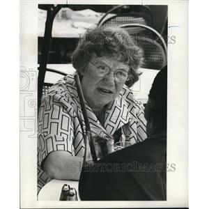 1970 Press Photo Margaret Mead in Anatomy of Youth - orp27272