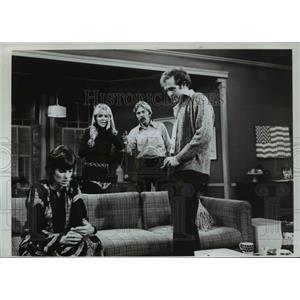 1972 Press Photo Lawrence Pressman actor - orp22678