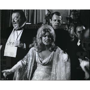 "1971 Press Photo Melina Mercouri ""Gaily, Gaily"" - orp20887"