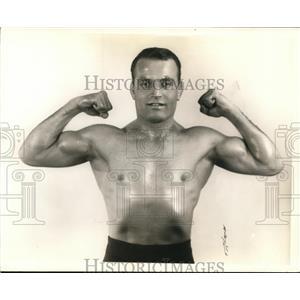 1939 Press Photo Wrestler George Koverly