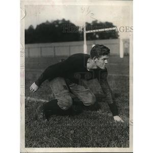 1927 Press Photo Bruce Caldwell, Yale halfback