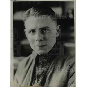 1927 Press Photo German Explorer Hans Findeisen - nee05913