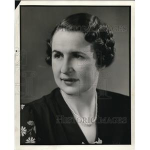 1938 Press Photo Ruth King