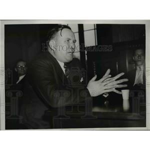 1937 Press Photo Henry M. Moses, U.S. Coal & Coke Company - nee03000