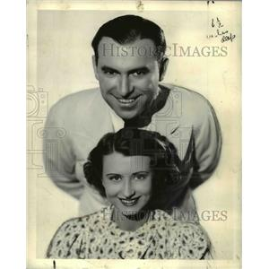 1936 Press Photo Ryan and Irene Noblette - orp24119
