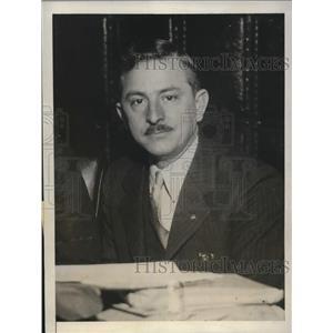 1931 Press Photo Samuel H Miller Senator Democrat of Oneida County - nee02533
