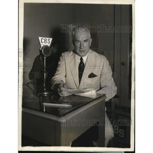 1936 Press Photo Henry P. Fletcher, Chairman of Republican National Committee