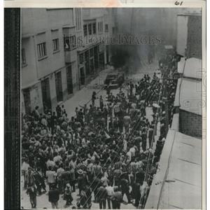 1961 Press Photo LA Paz Boliva The Federation of Chauffers Bldg - nee01780