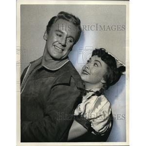 1958 Press Photo Van Johnson in The Pied Piper of Hamelin