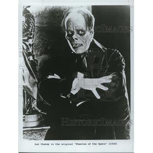 1984 Press Photo Lon Chaney in Phantom of the Opera 1926 - cvp50447