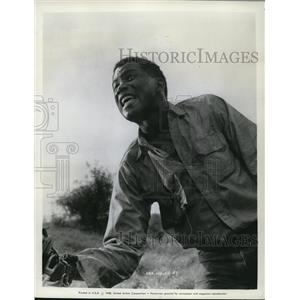 1958 Press Photo Sidney Poitier stars as Noah Cullen in The Defiant Ones