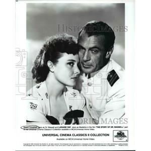 1996 Press Photo Gary Cooper and Laraine Day star in The Story of Dr. Wassell