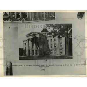 1935 Press Photo Raleigh North Carolina State Capitol - nee08419
