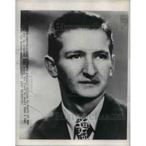 1950 Press Photo of Sgt. William F. Smith who shot down a YAK bomber.