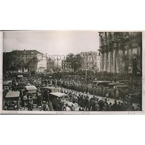 1927 Press Photo Portuguses revolt, Major Americo Olavo was killed