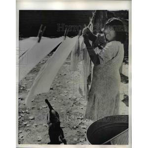 1942 Press Photo Parker Ariz Xolorado Indian Reservation Mojave Indian