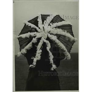 1926 Press Photo Umbrella