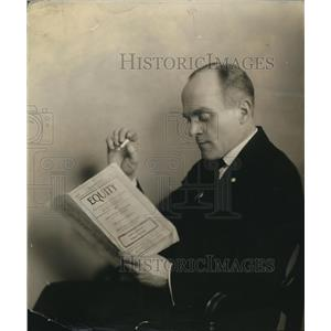 1939 Press Photo Grant Mitchell, screen debut in the New Television Show