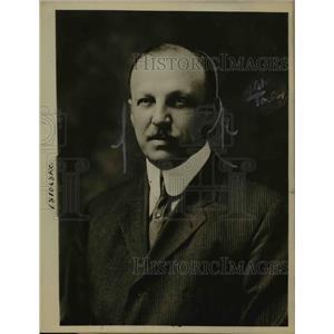 1918 Press Photo W Champlin Robonson of Md US Fuel Administration - nee14903
