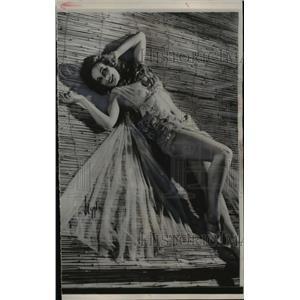 1952 Press Photo Cannes, France Ulla Jakobsson - nee07253