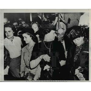 1939 Press Photo Christine Johnson, Sister & Family of Kentucky Governor Keen