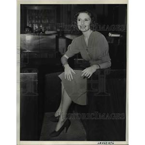1938 Press Photo Screen actress, Mrs. Constance Ray Blondell in court