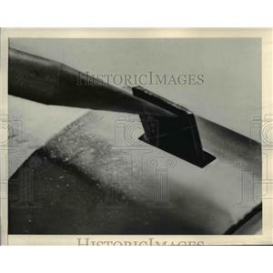 1948 Press Photo Plane Wing Vane Equipment for Spin Warning - nee25314