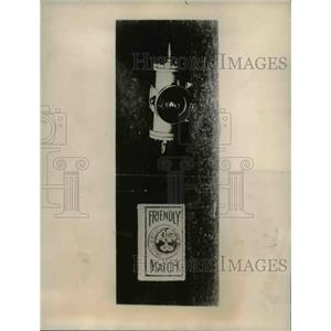 1922 Press Photo The four inch motor was put on the English Motor Market