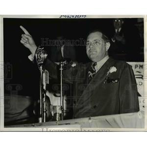 1940 Press Photo Louisiana Senator James A. Noe - nee26094
