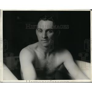 1931 Press Photo Bill Akers of Detroit Tigers - nes27917