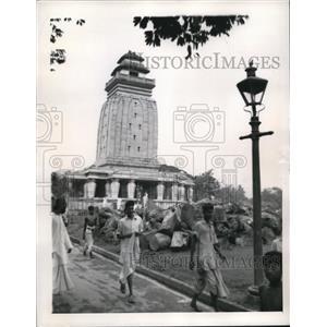 1943 Press Photo India, starvation in Calcutta