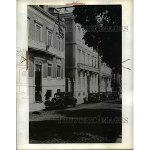 1941 Press Photo US Embassy in Lisbon Spain - nee39368