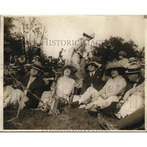 1921 Press Photo Villa Marina Estate of Frank Henderson Reslyn Long Island
