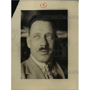 1924 Press Photo Lt Manuel Gouveia Portuguese flier - nee47223