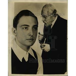 1936 Press Photo Bill Baar as Grandpa Burton - nee47393