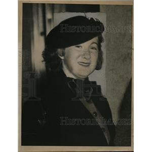 1936 Press Photo Mildred Young, Beaumont Texas Lawyer - nee48796