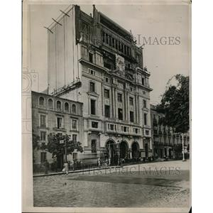 1929 Press Photo Madrid Building, Ministry of Education - nee48003