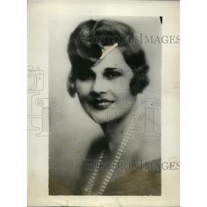 1928 Press Photo Mlle.Elvira Propesco represent Roumania at Intl. Beauty Contest