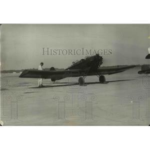 1929 Press Photo Barling mono-plane introduced by Dungan School of Aviation