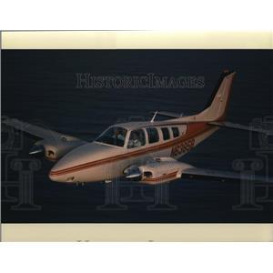 1991 Press Photo Airplanes Baron 58