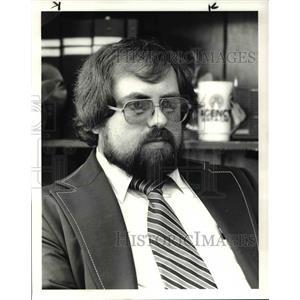1983 Press Photo Larry Twigger Former U.S. Air Force Man