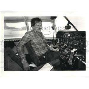 1981 Press Photo Larry Rohl